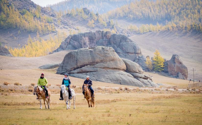 Toller Abschluss in der Mongolei
