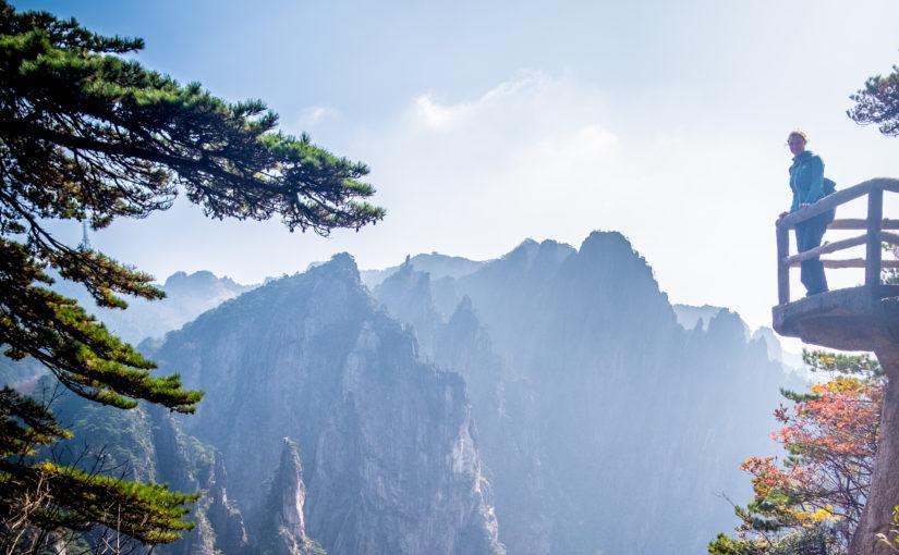 Gelbe Berge und unzählige Treppenstufen