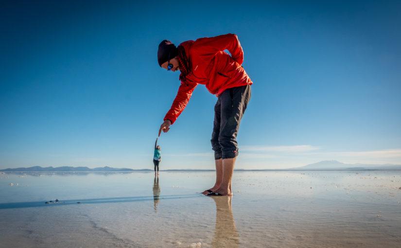 Der grösste Salzsee der Welt