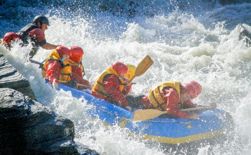 Wind, Regen, Sonne, Gletscherwasser & viel Adrenalin