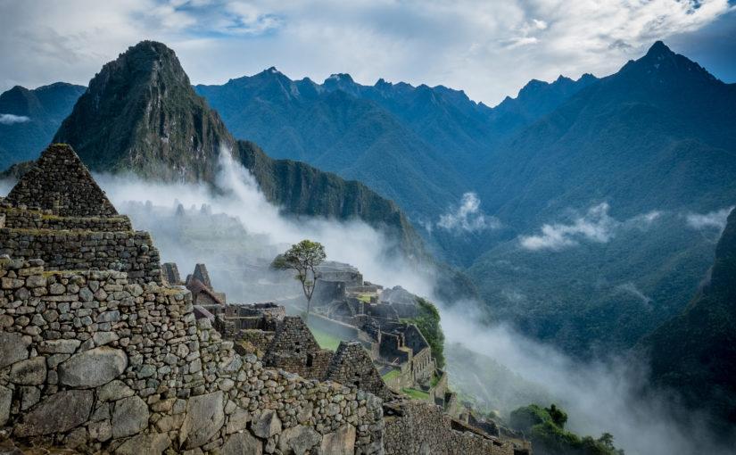 Auf einem der vielen Inkawege nach Machu Picchu