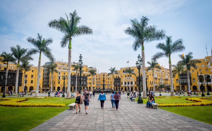 Abschluss von Südamerika in Lima