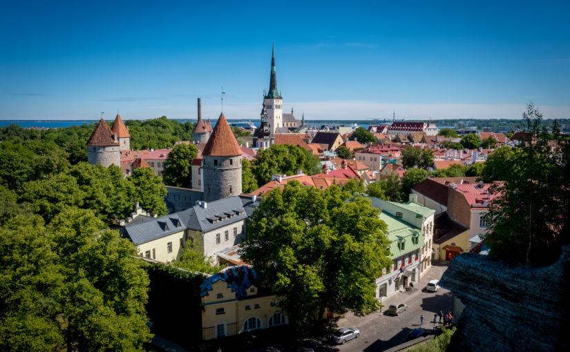 Durch die baltischen Staaten